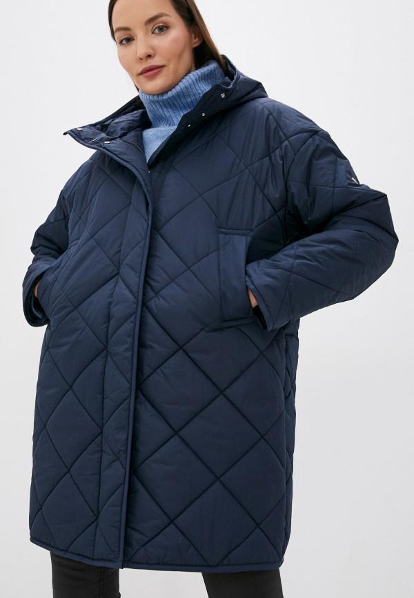 женская утепленные куртка baon, синяя