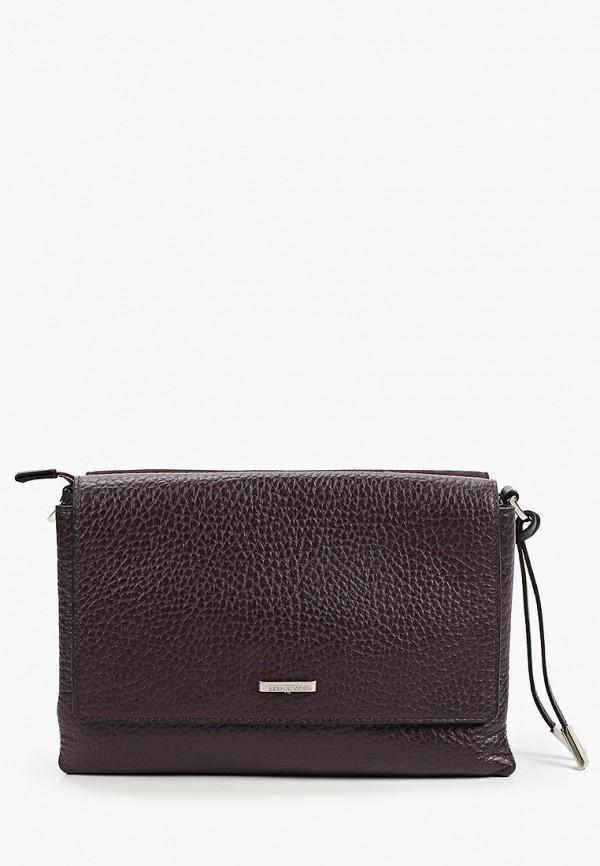 женская сумка через плечо eleganzza, фиолетовая