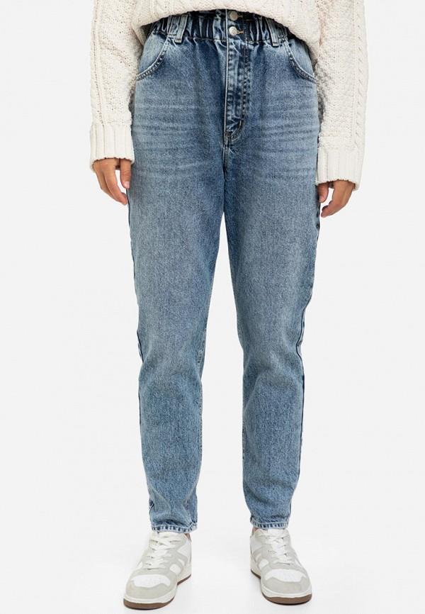 женские джинсы бойфренд gloria jeans, синие