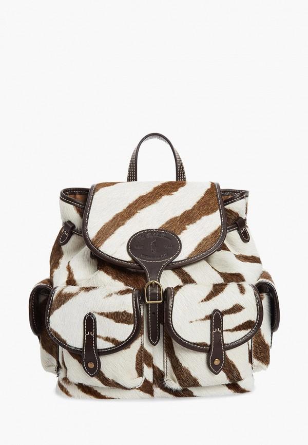 женский рюкзак polo ralph lauren, белый