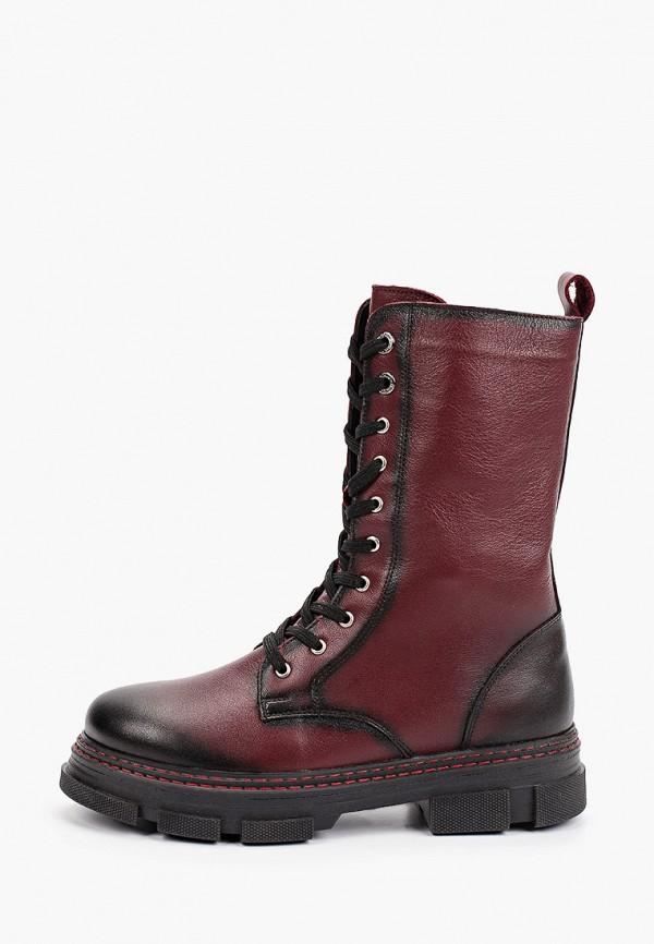 женские высокие ботинки nexpero, бордовые