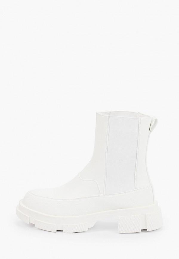 женские ботинки-челси may vian, белые