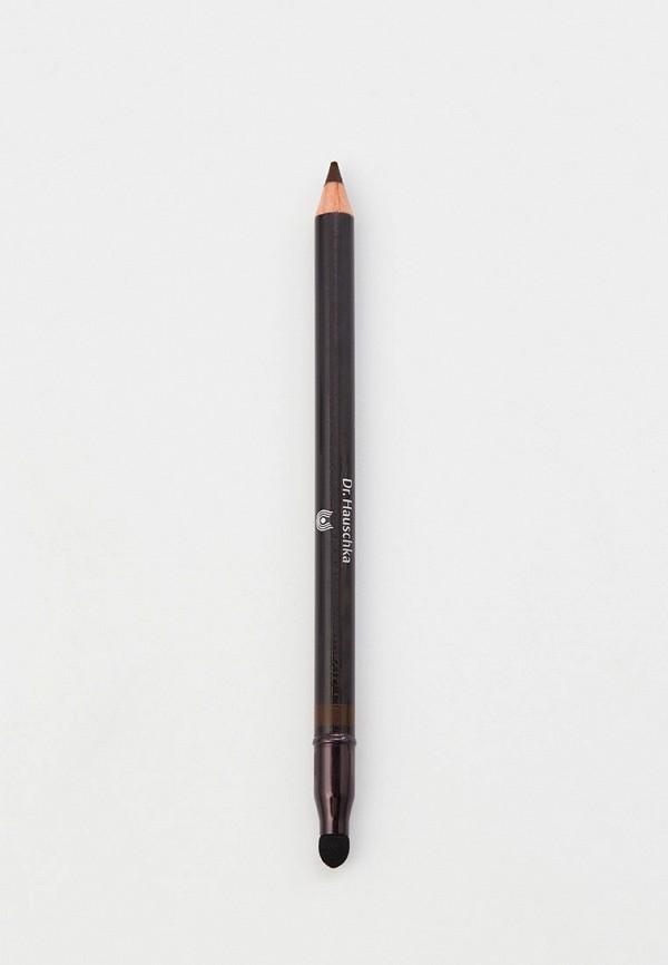 женский карандаш для глаз dr. hauschka, коричневый