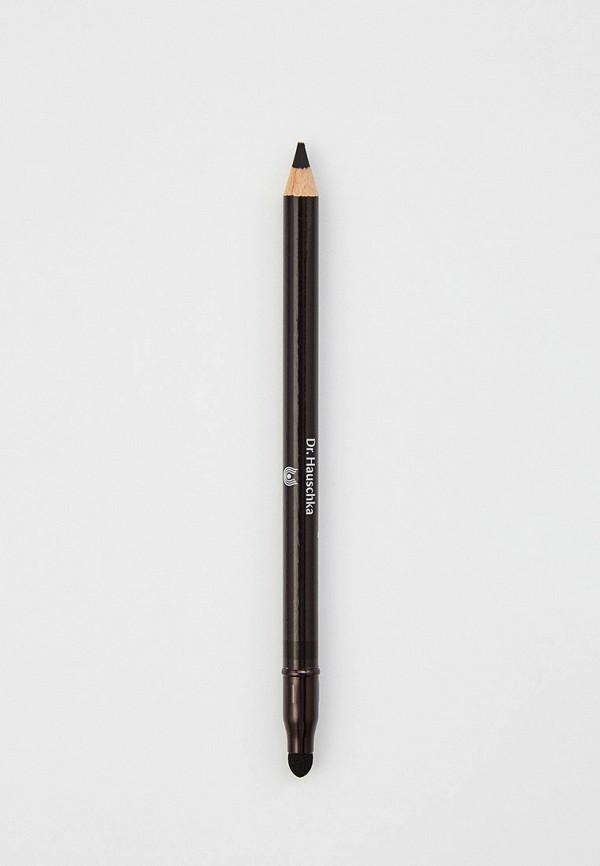 женский карандаш для глаз dr. hauschka, черный