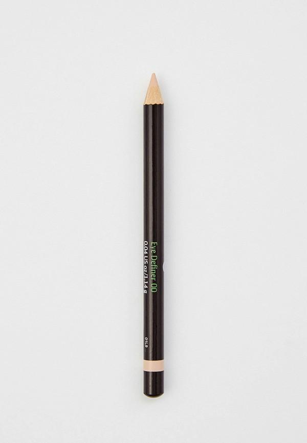 женский карандаш для глаз dr. hauschka, бежевый