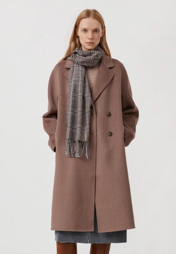 Пальто Finn Flare коричневого цвета