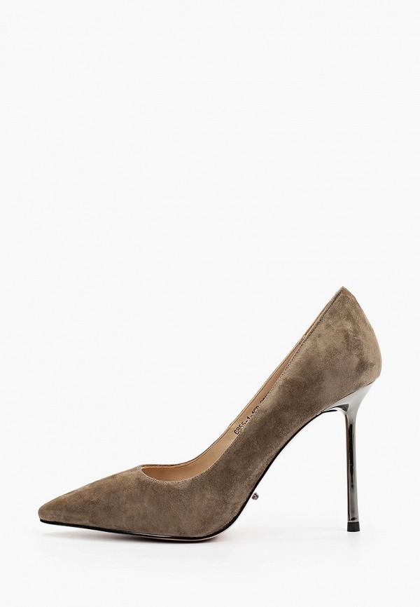 женские туфли-лодочки graciana, коричневые