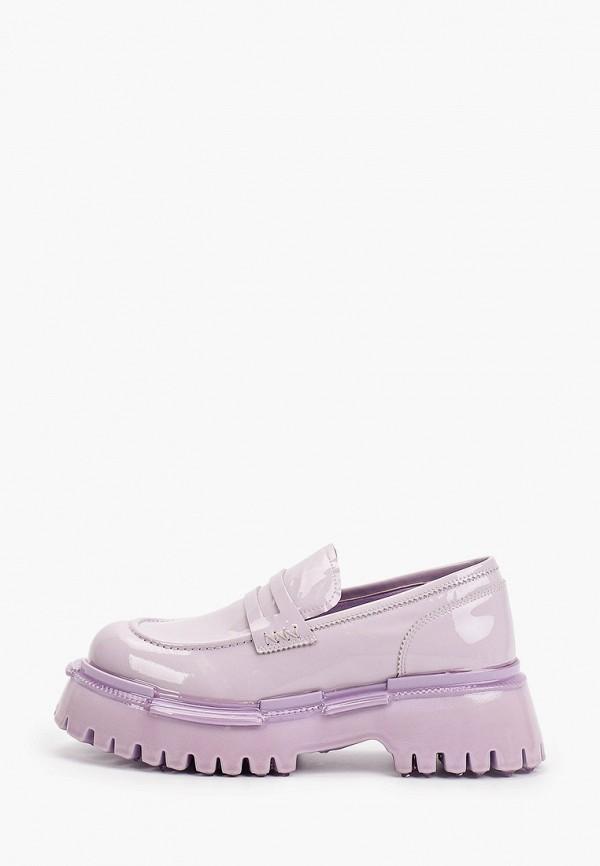 женские лоферы graciana, фиолетовые