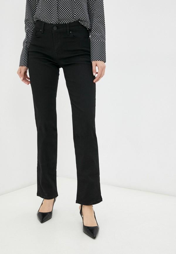 женские прямые джинсы whitney, черные