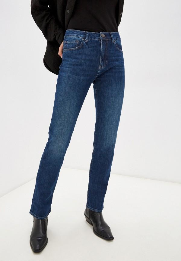 женские прямые джинсы whitney, синие