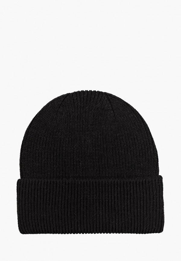 женская шапка mascotte, черная