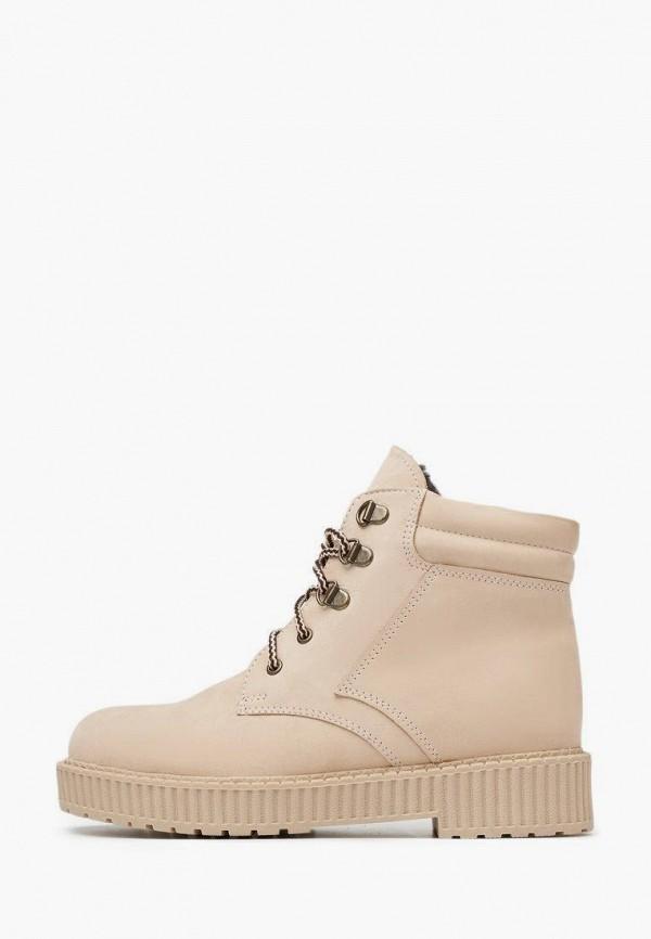женские ботинки alessio nesca, бежевые