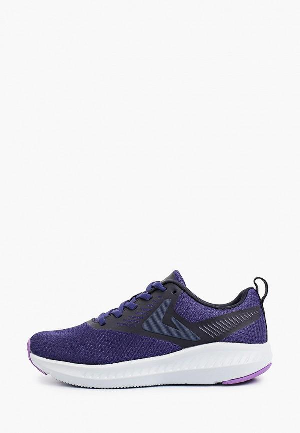 женские низкие кроссовки demix, синие