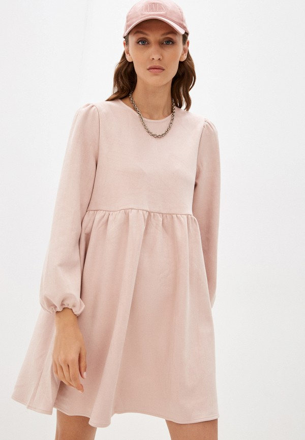 Платье Befree розового цвета
