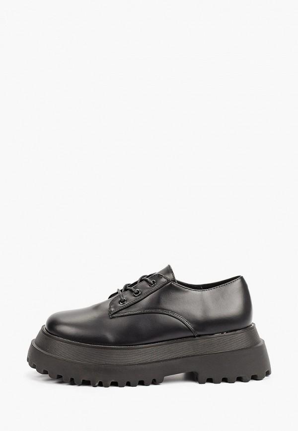 женские низкие ботинки befree, черные