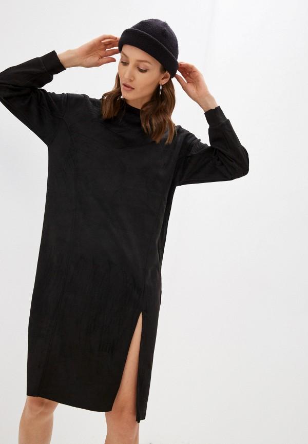 Платье Befree черного цвета