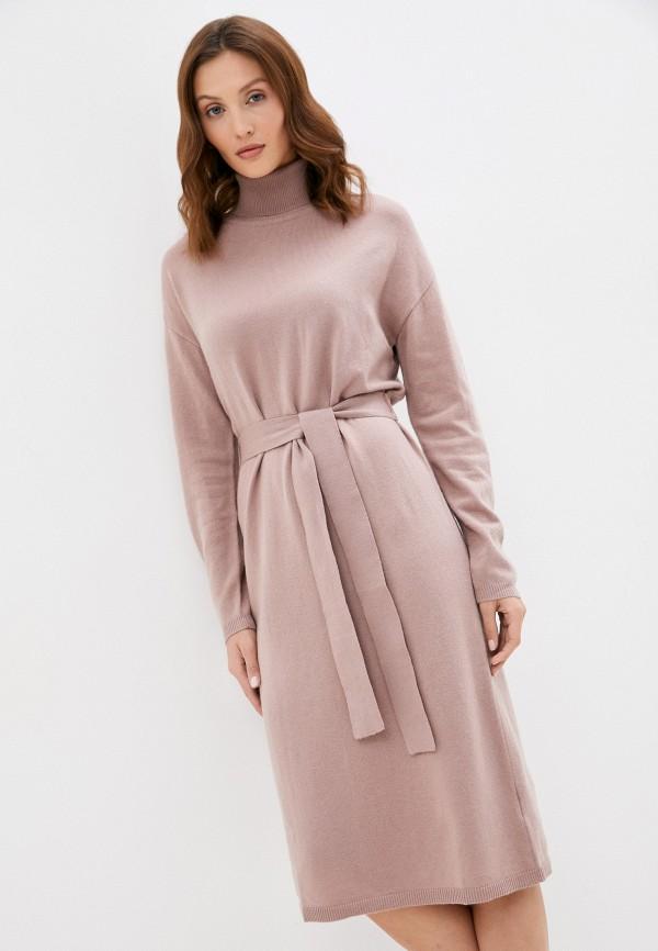 женское платье-свитеры baon, розовое