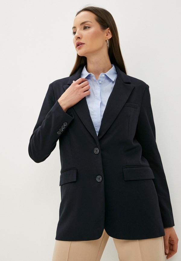 женский пиджак baon, синий