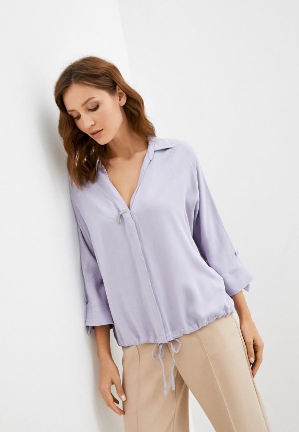женская блузка с длинным рукавом baon, фиолетовая