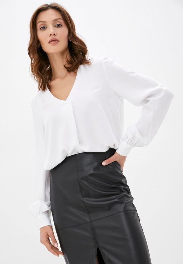 женская блузка с длинным рукавом baon, белая