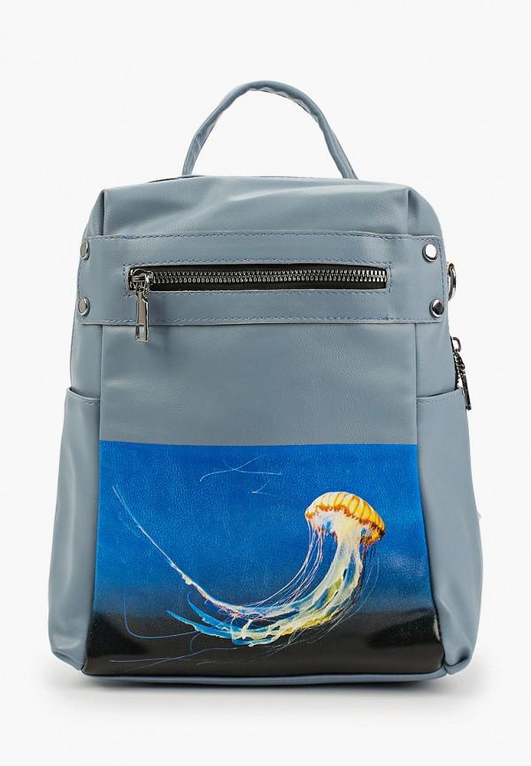 женский рюкзак артми, голубой