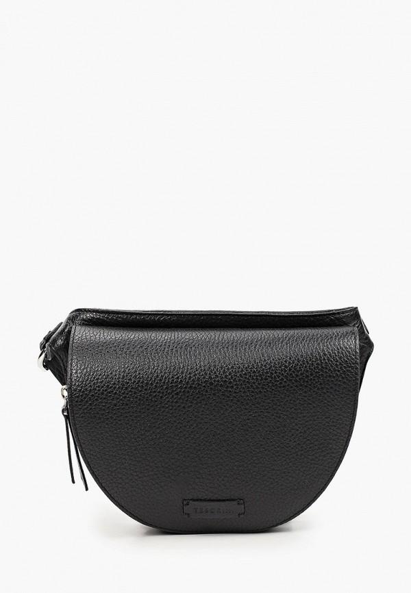 женская поясные сумка tesorini, черная