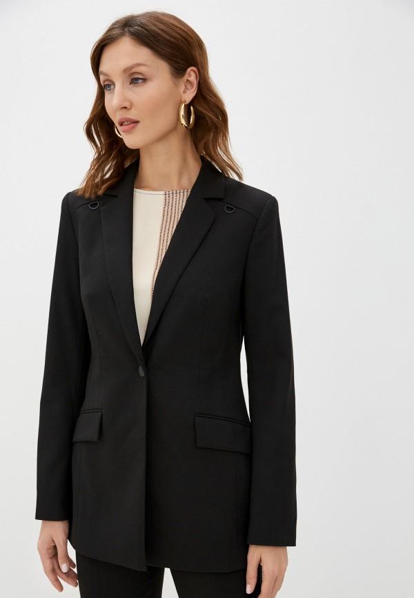 женский пиджак nelva, черный