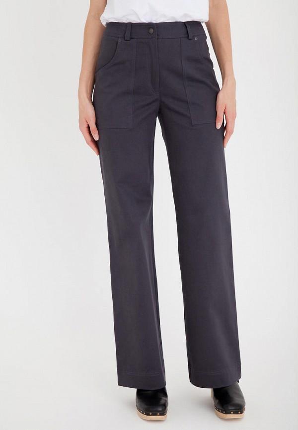 женские повседневные брюки gregory, серые