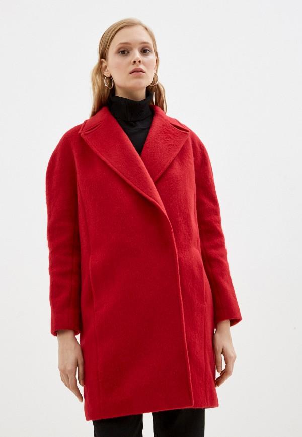 женское пальто sabrina scala, красное