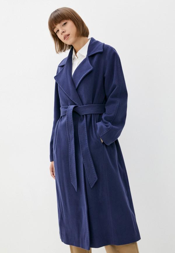 женское пальто sabrina scala, синее