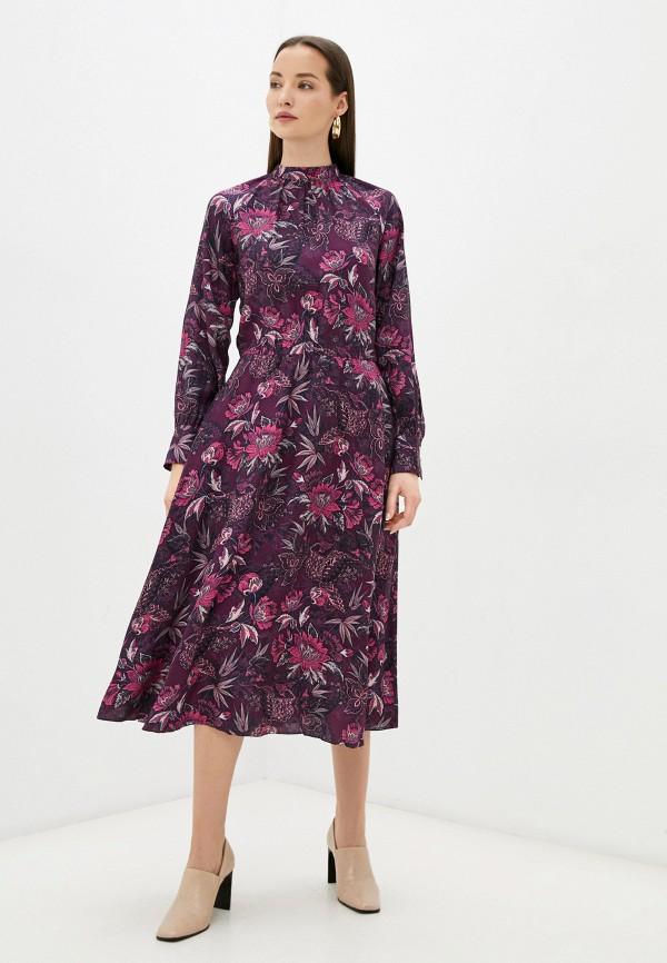 женское повседневные платье sabrina scala, бордовое