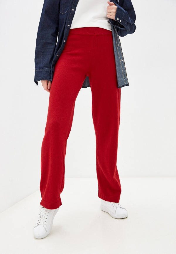 женские повседневные брюки belucci, красные