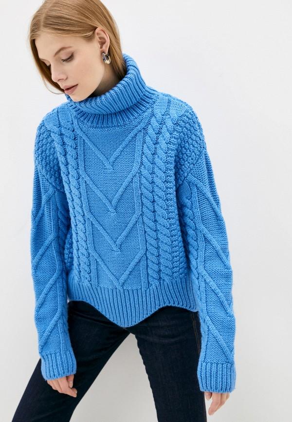 женский свитер belucci, синий