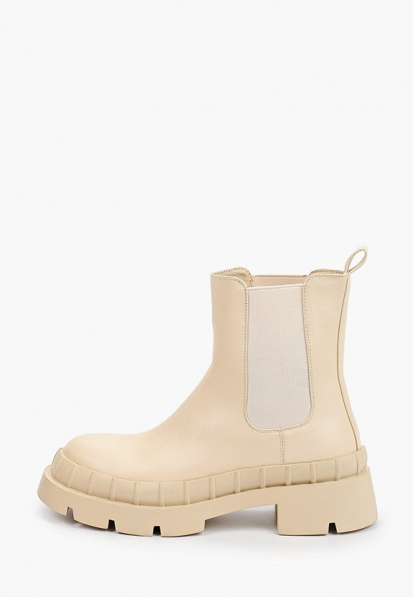 женские ботинки-челси араз, бежевые