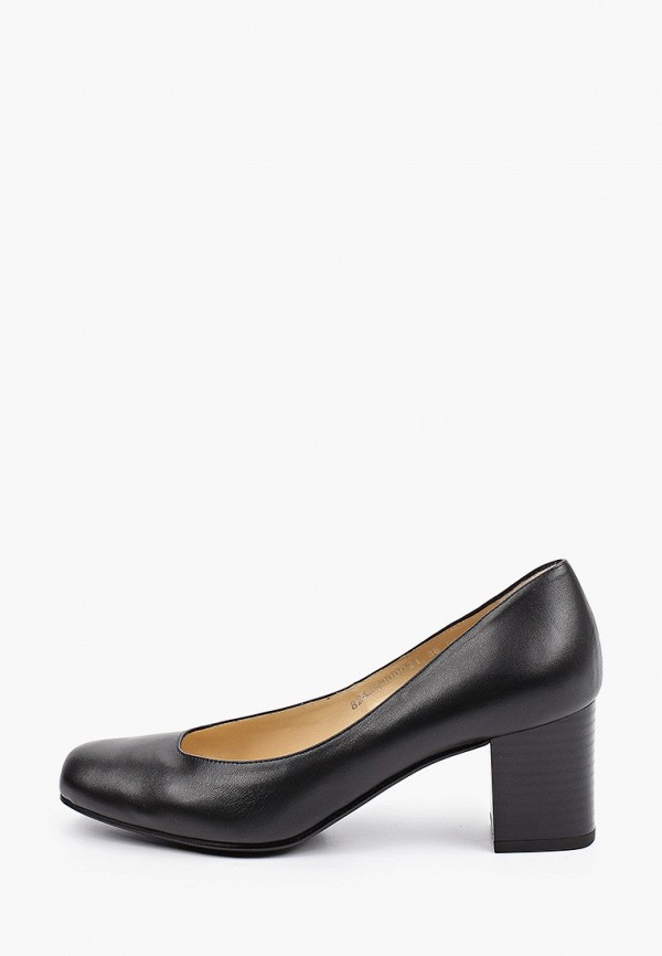 женские туфли с закрытым носом argo, черные