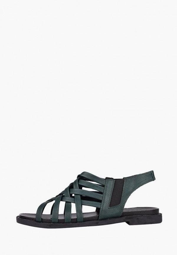 женские сандалии injers, зеленые
