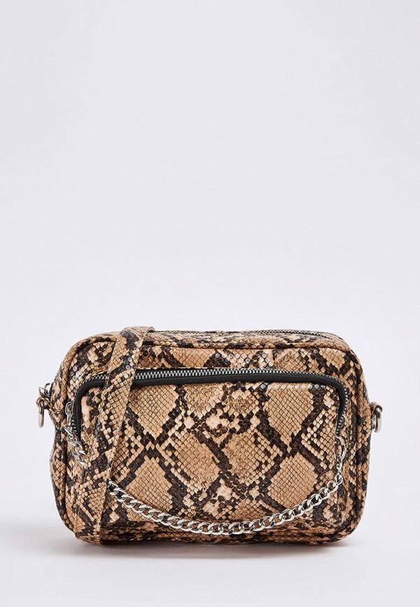 женская сумка terranova, бежевая