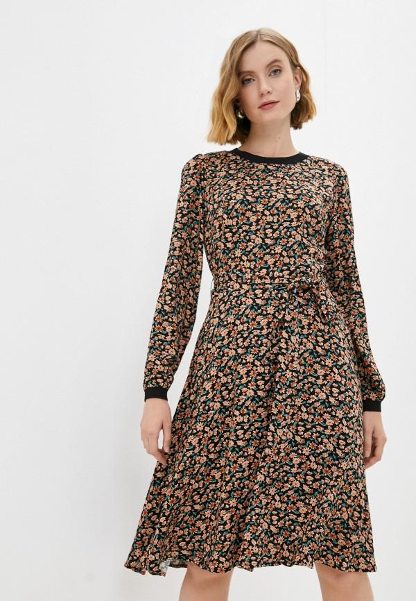 женское повседневные платье baon, разноцветное