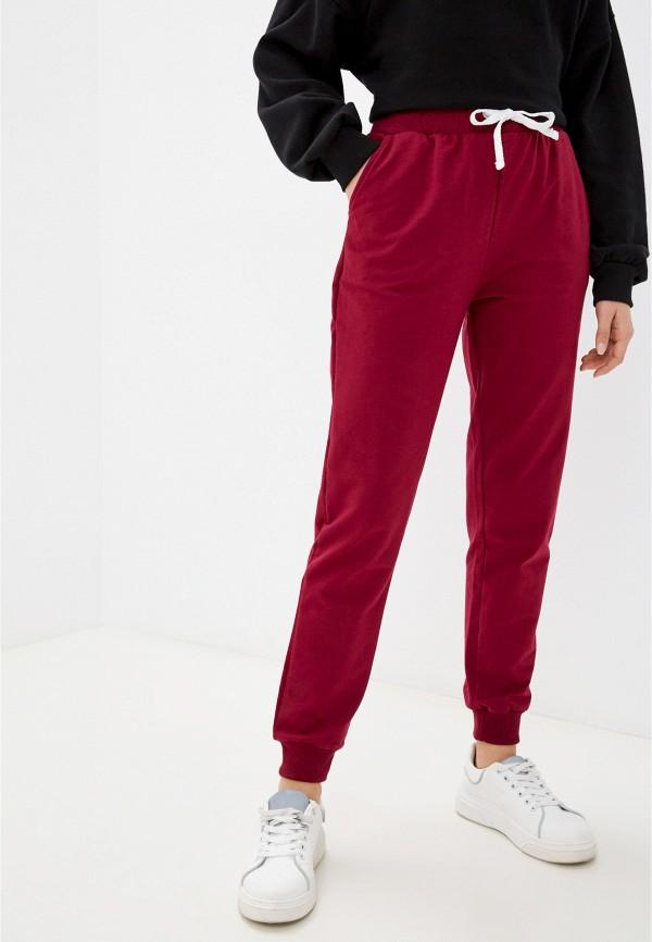 женские спортивные брюки eva cambru, бордовые