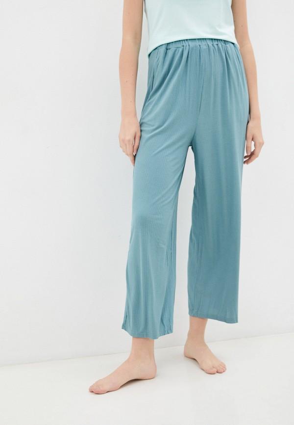 женские брюки клеш eva cambru, бирюзовые