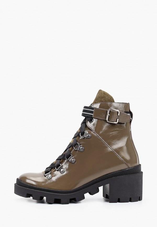 женские высокие ботинки ralf ringer, хаки