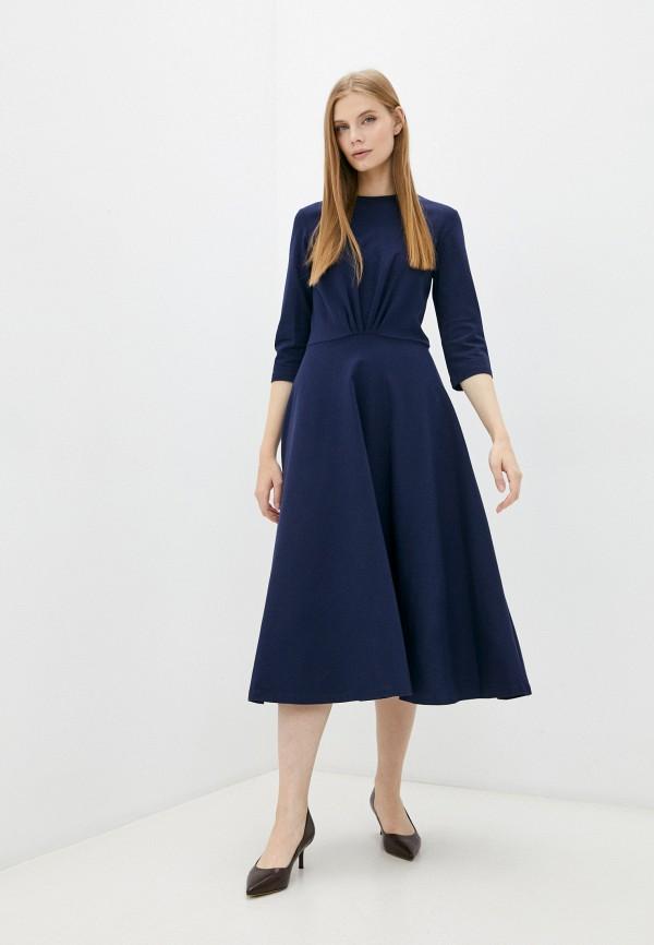 женское повседневные платье luvine, синее