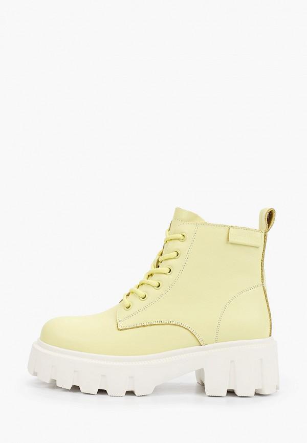 женские высокие ботинки sprincway, желтые