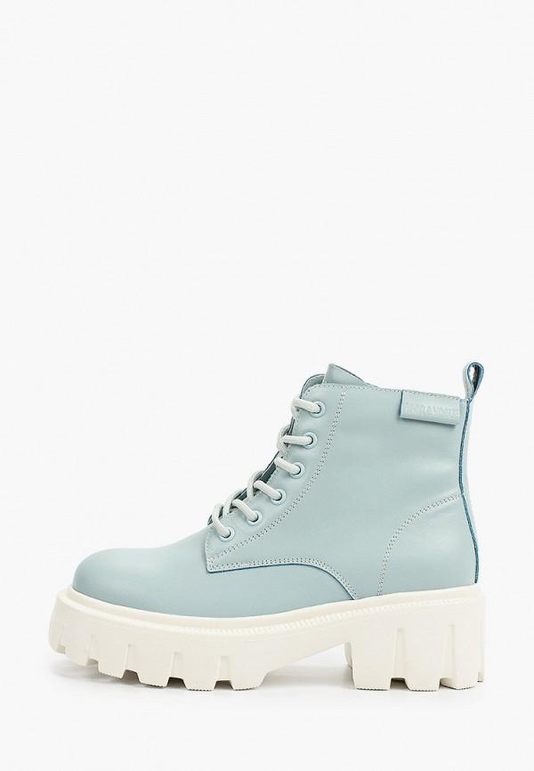 женские высокие ботинки sprincway, голубые