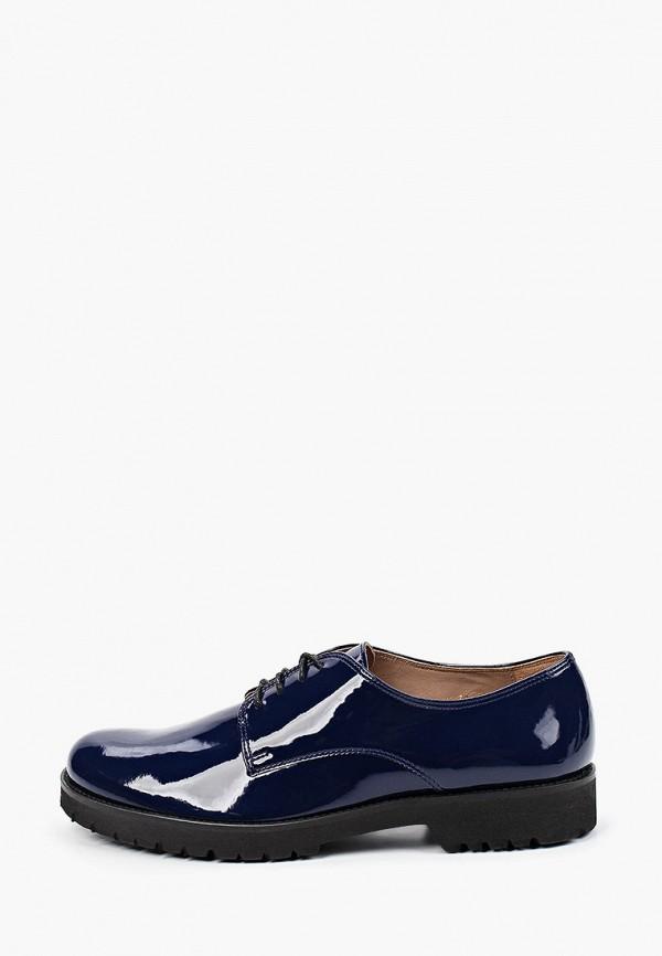 женские ботинки-оксфорды enzo logana, синие