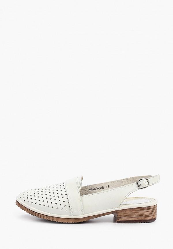 женские туфли enzo logana, белые