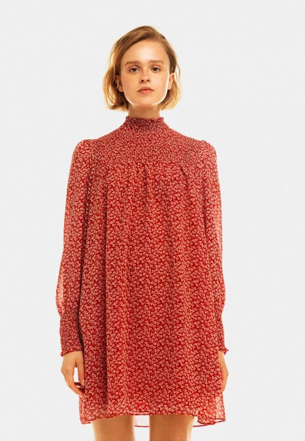 Платье Befree красного цвета