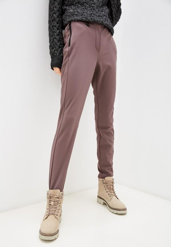 женские повседневные брюки baon, коричневые