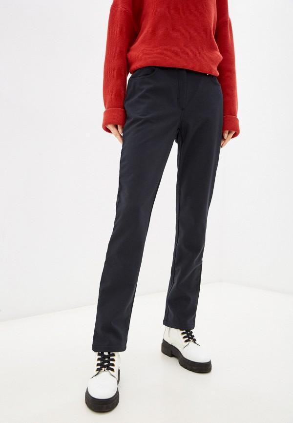 женские утепленные брюки baon, черные