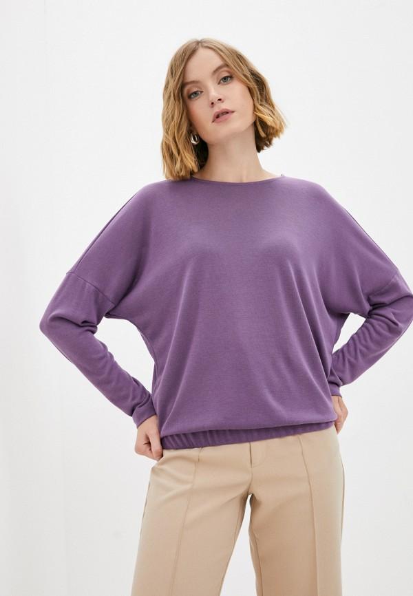 женский лонгслив baon, фиолетовый